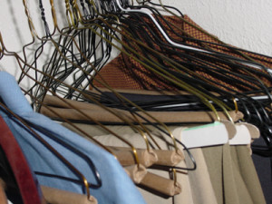 hangers - an organizing solution for your closet