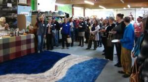community warehouse art event