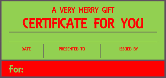 massage gift certificate template free download - 8 gifts recommended by a professional organizer that keep