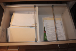 how to get your office organized and put papers in files