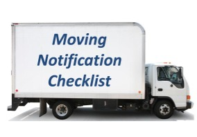 professional organizers moving checklist
