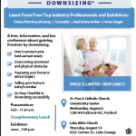 The Upside of Downsizing: A FREE event on August 14th, 2014