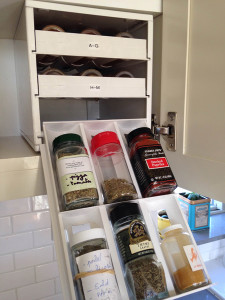 Organizing with a Spice Stack