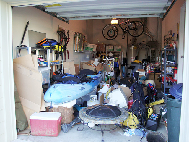 Garage Organizing Services Needed here!