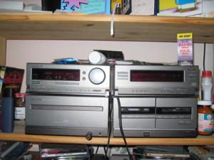 recycle old stereos!