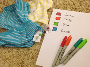 organization for who is loaning baby clothes
