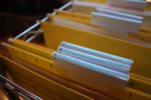 Organizing for tax season