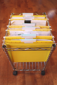 Organizing your papers for tax season