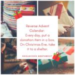 Teaching Kids about Giving: Reverse Advent Calendar