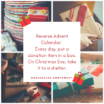 Teaching Kids about Giving: Reverse Advent Calendar