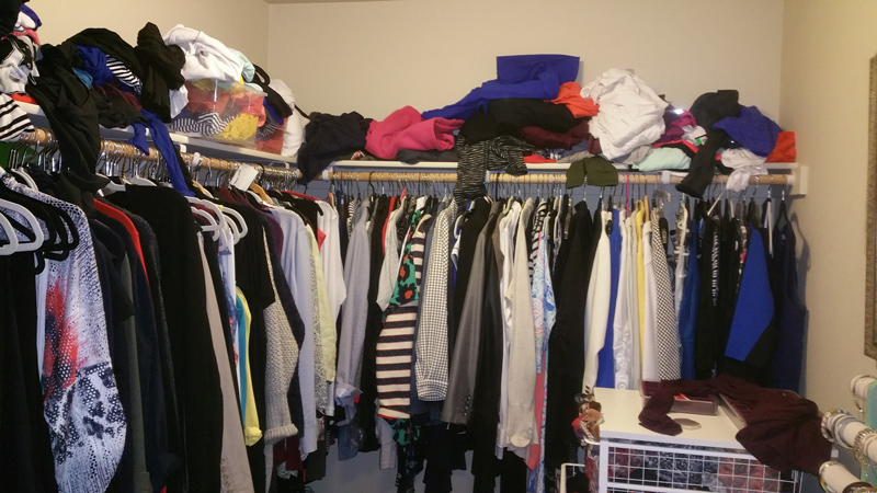 Professional Organizer Lisa Marie Worked On This Closet ~