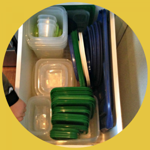 Organizing Tupperware