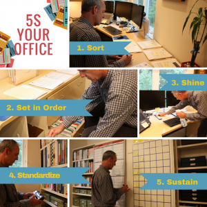5S Your Office with Organizers Northwest