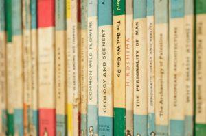 Book organization tips