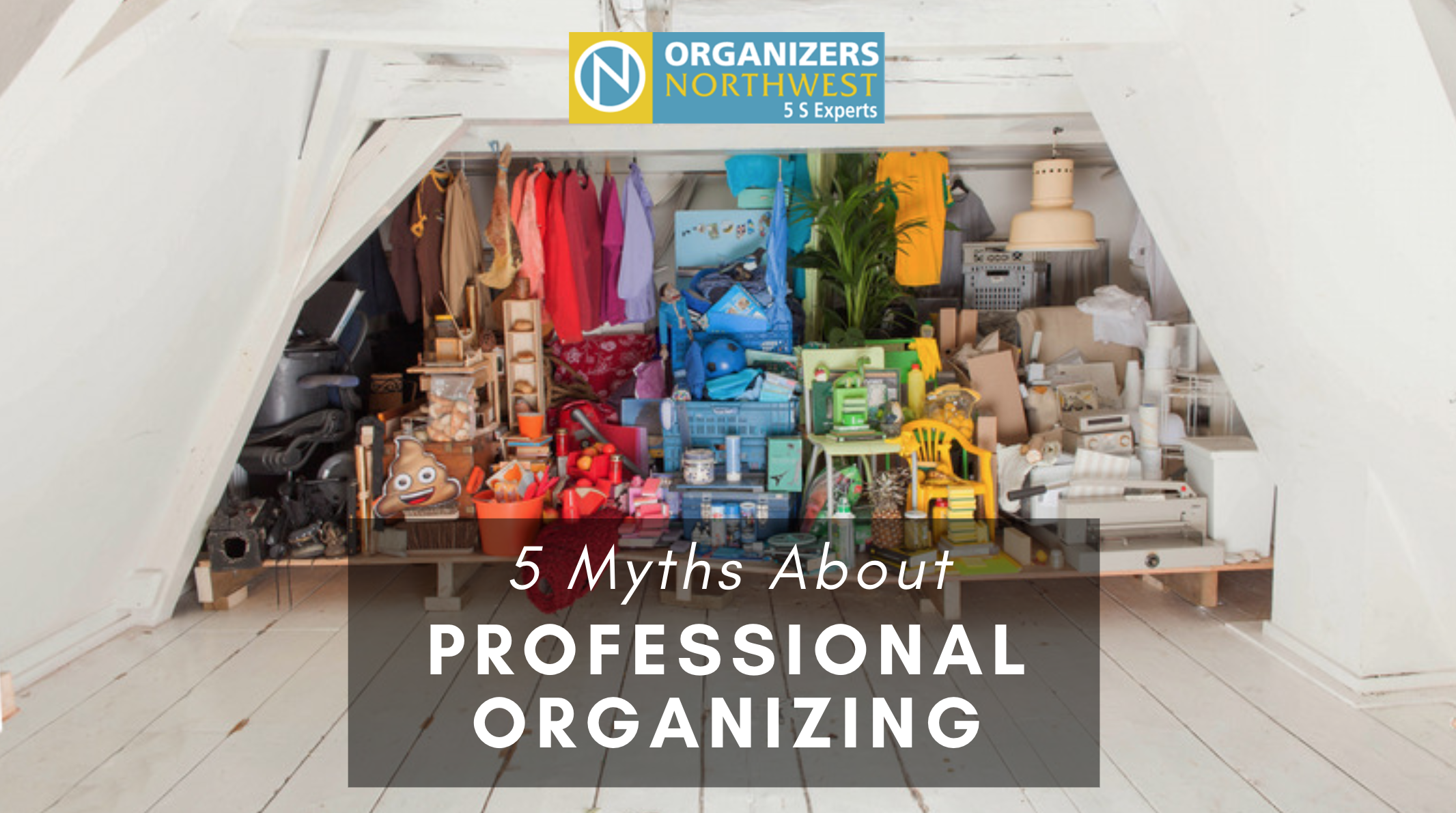 Myths about Professional Organizers