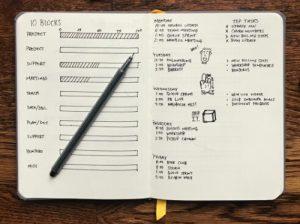 Bullet Journal for Organization