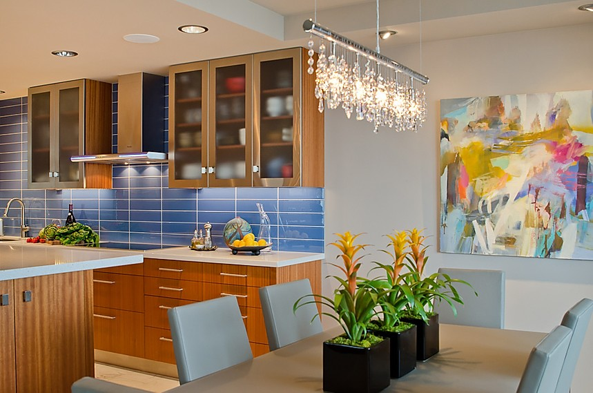 A colorful kitchen remodel from Kimberlee Jaynes design